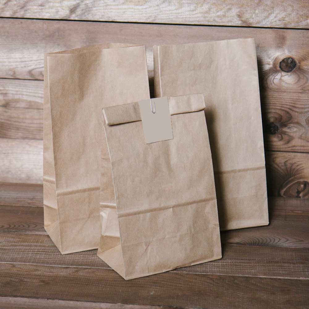 Фасовочные пакеты из крафт бумаги